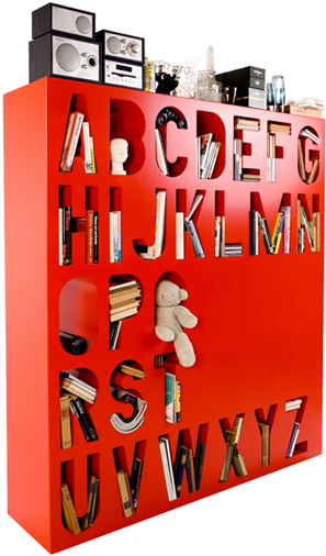 Amazing Alphabet Shelf