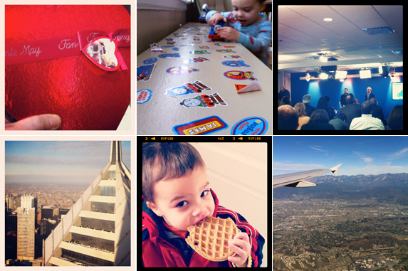Caleb Gardner's week in Instagram photos